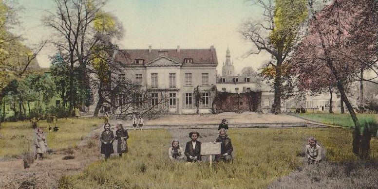 Het 'goed Van den Bossche' of stadspark – een stuk Tiens erfgoed.