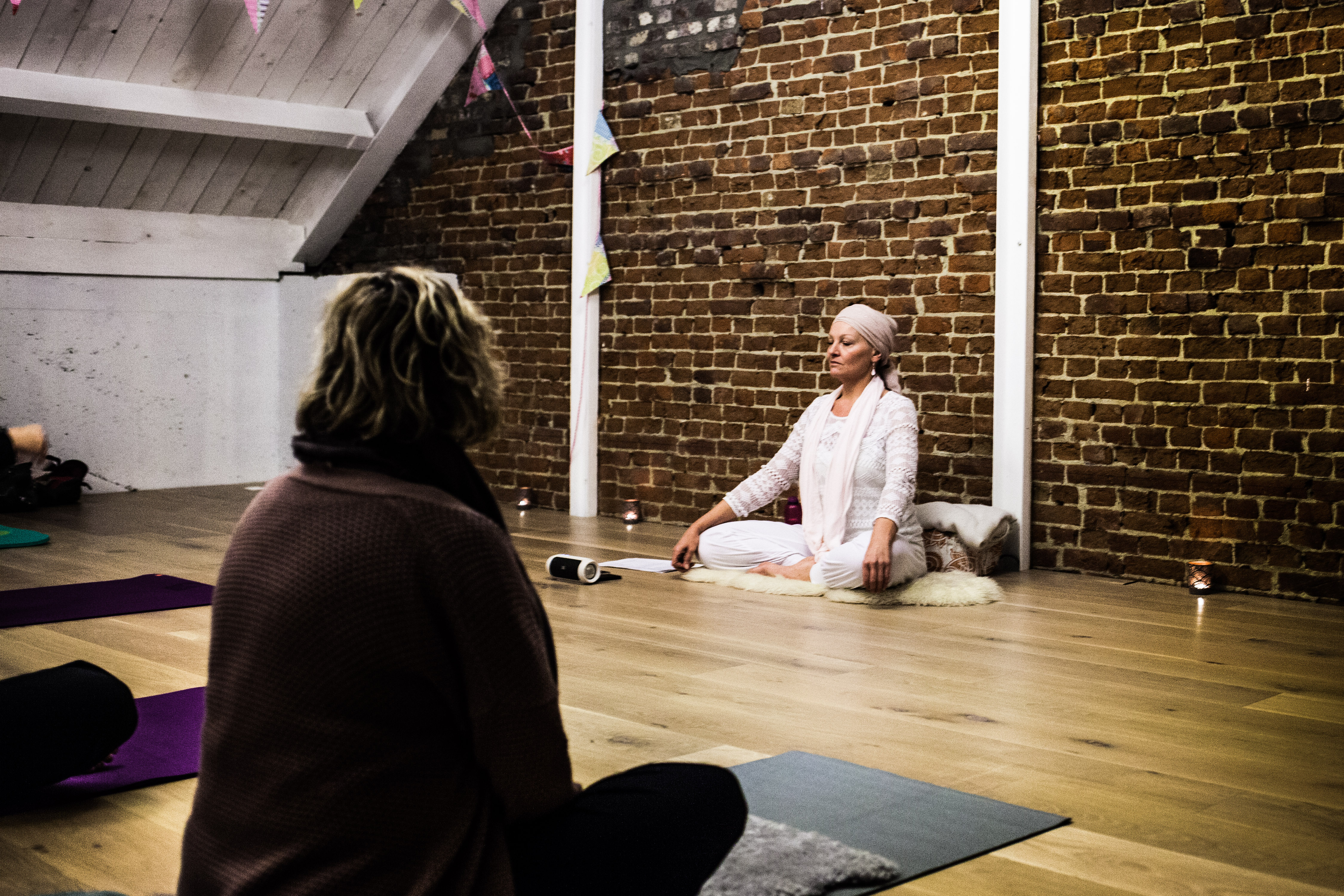 Interview met Bliss Yoga docente Sangeeta Kaur.