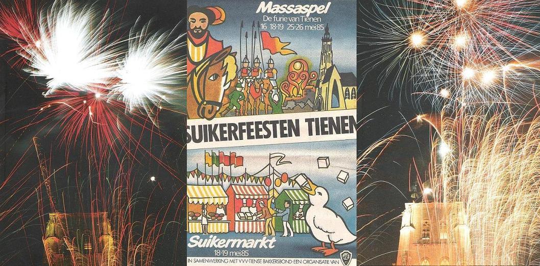 Tiense 'Kweikers' op Tiense Suikerfeesten en Suikermarkt.