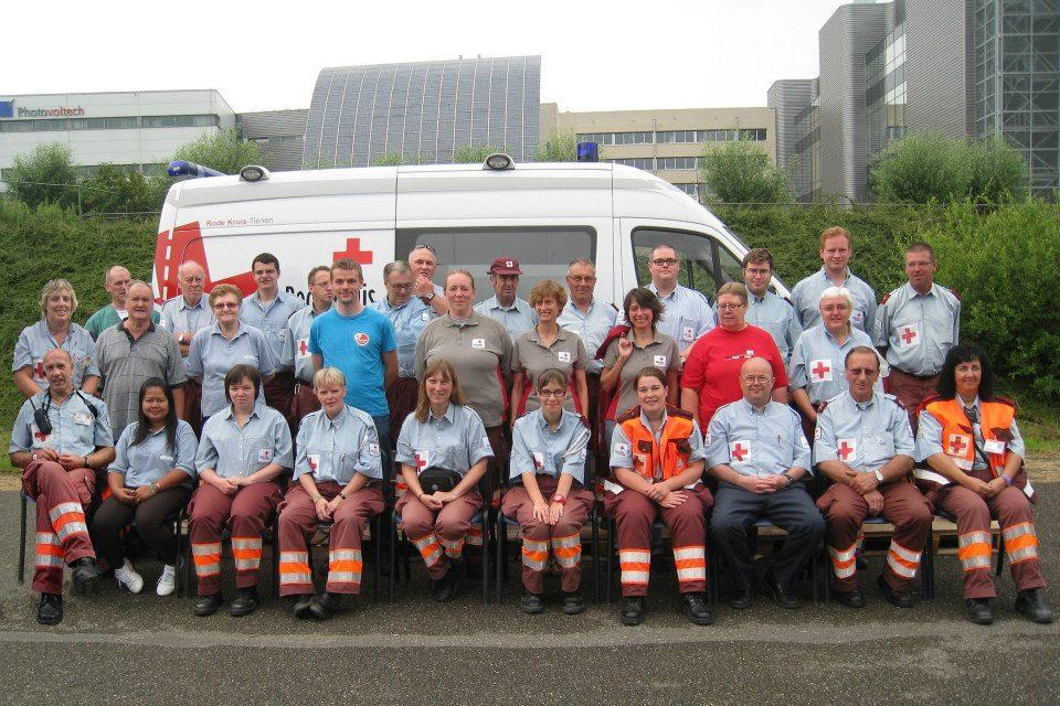 Robert Treckels, 25 jaar bij Rode Kruis-Tienen.