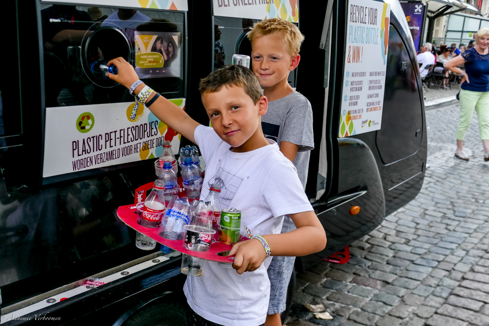 IN THE PICTURE: Mobile Recycling Car