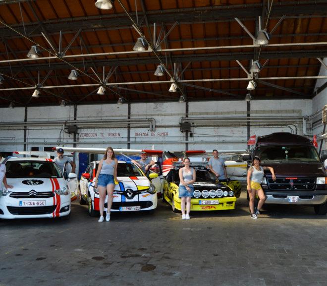 Let's go: Tiense teams klaar om zich te showen tijdens Budapest Rally