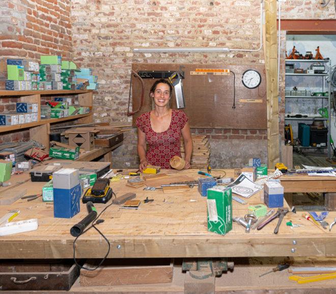 Booming business: Boomhutbouwster Sara vervult je (kinder)dromen