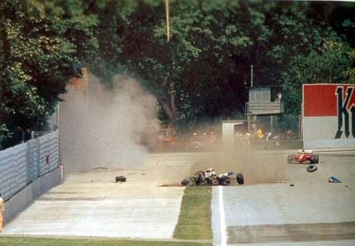 crash racewagen