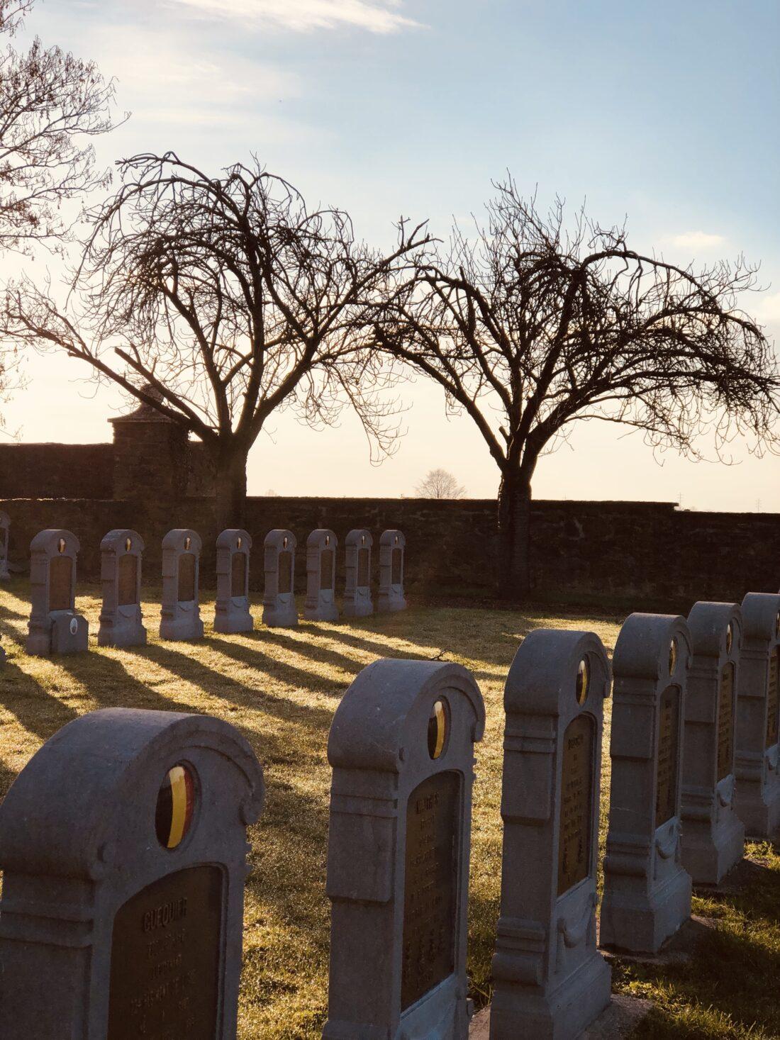 militair kerkhof Oplinter