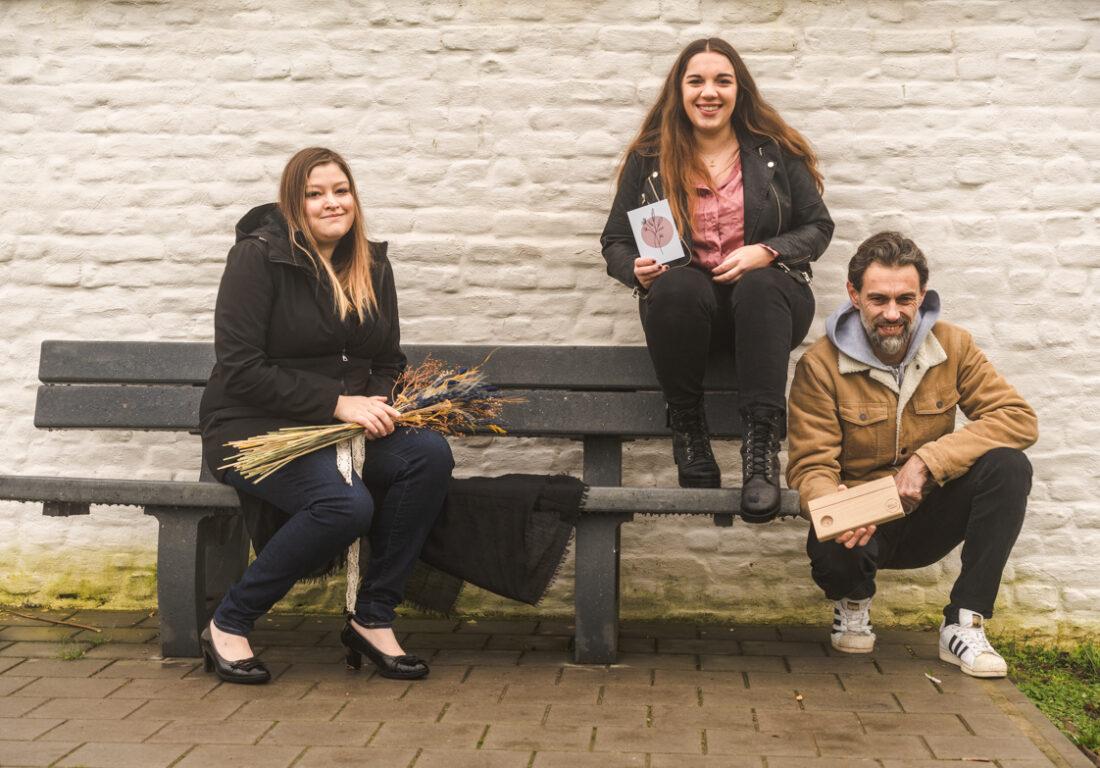 Kirsten, Yana en Hans
