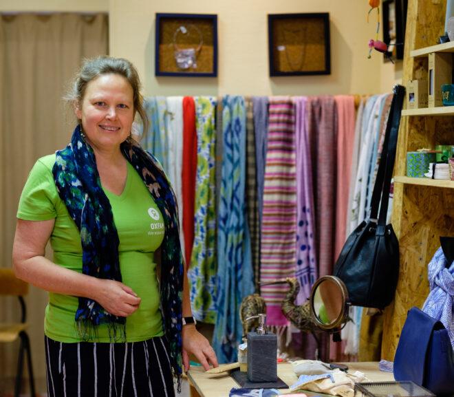 Vrijwilligers in beeld: Patricia van de Wereldwinkel